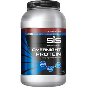 SiS Overnight Protein - Nutrición deportiva - Chocolate 1kg